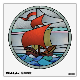 Art Deco Ship Window and Wall Decals