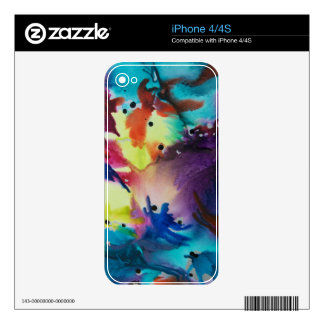 Art Deco Skin For The iPhone 4