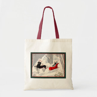 Art Deco Sleigh Ride Tote Bag