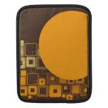 Art Deco Squares and Circle iPad Sleeves