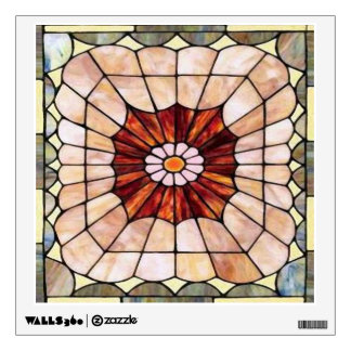 Art Deco Stained Glass 2 Room Sticker