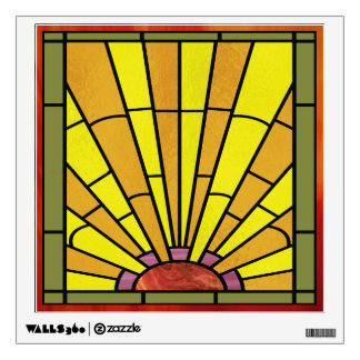 stained glass wall decals wall stickers zazzle