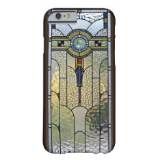 Art Deco Stained Glass Window Iphone 6 Case at Zazzle