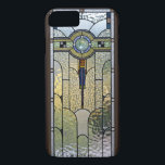 "Art Deco Stained Glass Window iPhone 7 case<br><div class=""desc"">Lovely Art Deco Stained Glass Cover for your iPhone.</div>"