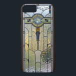 """Art Deco Stained Glass Window iPhone 7 case<br><div class=""""desc"""">Lovely Art Deco Stained Glass Cover for your iPhone.</div>"""