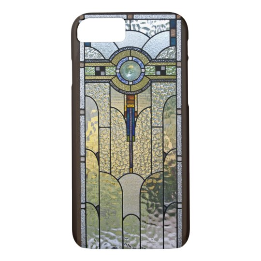 los angeles 012e1 a56bd Art Deco Stained Glass Window iPhone 7 case