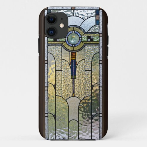 Art Deco Stained Glass Window iPhone Cover Phone Case
