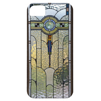 Art Deco Stained Glass Window iPhone Cover