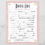 """Art Deco Style Bride Libs Game<br><div class=""""desc"""">Just fill in the blanks with your own words! The most creative wins!</div>"""