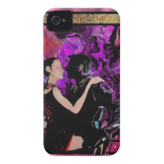 Art Deco style dancers iPhone 4 Case-Mate Case