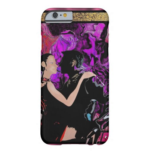 Art Deco style dancers iPhone 6 Case