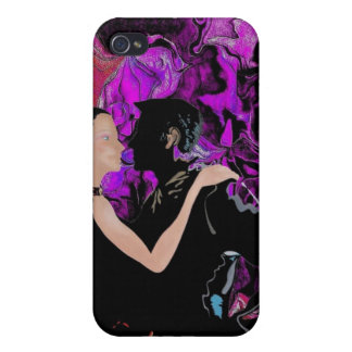Art Deco style dancers iPhone 4/4S Covers