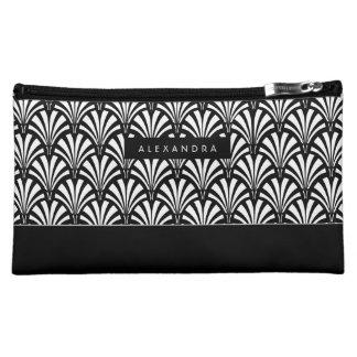 Art Deco Style Fans Makeup Bag