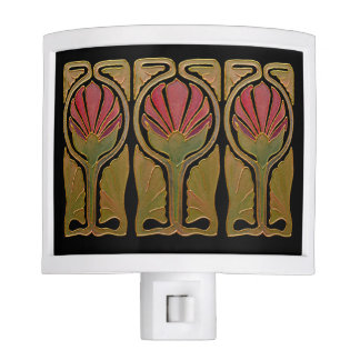 Art Deco Style Night Light