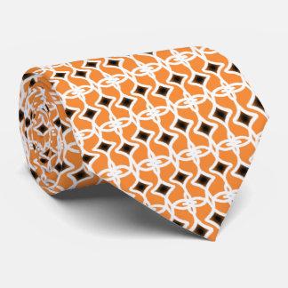 Art Deco Style Pattern Neck Tie