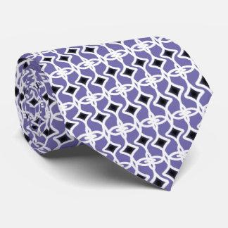 Art Deco Style Pattern Tie