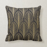 "Art Deco Style Pillow<br><div class=""desc"">This Gatsby style pillow design was inspired by art deco patterns and wallpapers commonly used in the 20&#39;s.</div>"