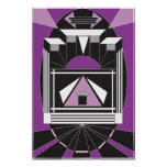 Art Deco Style Poster