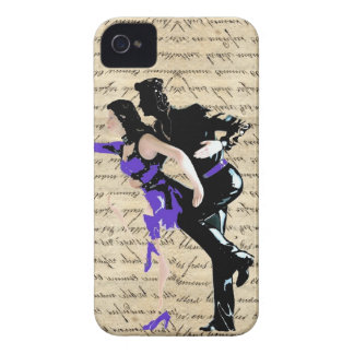 Art Deco style vintage dancers Case-Mate iPhone 4 Case