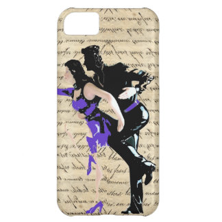 Art Deco style vintage dancers iPhone 5C Cover