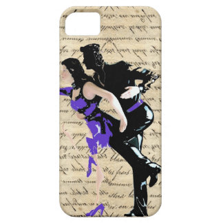 Art Deco style vintage dancers iPhone SE/5/5s Case