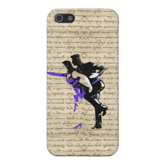 Art Deco style vintage dancers iPhone SE/5/5s Cover