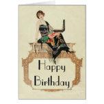 Art Deco Template Greeting Card