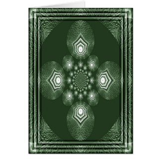ART DECO TEXTURE #C02 GREETING CARD