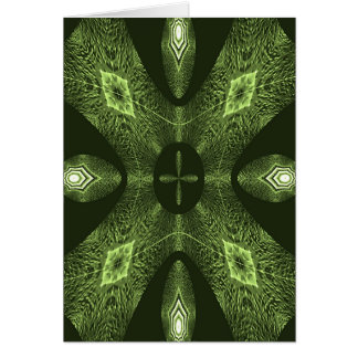 ART DECO TEXTURE #C07 GREETING CARD