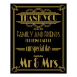 wedding, wedding table sign, art deco, gatsby,