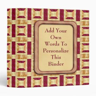 Art Deco Theater 3 Ring Binder