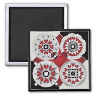 Art Deco Valentine 01 Magnets