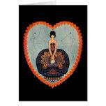 Art Deco Valentine Greeting Card