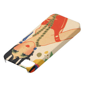 Art Deco Vamp, 1920s Flapper iPhone SE/5/5s Case