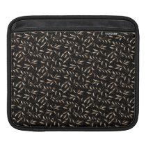 Art Deco Willow Leaf Pattern iPad Sleeve