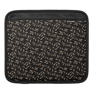 Art Deco Willow Leaf Pattern Sleeve For iPads