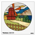 Art Deco Windmill Decal
