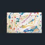 "Art Deco Wristlet<br><div class=""desc"">Jo&#39;s Splatter Painting</div>"