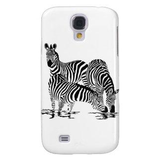 Art Deco  Zebra Galaxy S4 Cases