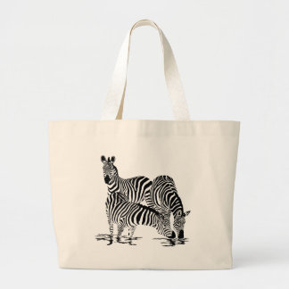Art Deco  Zebra Jumbo Tote Bag