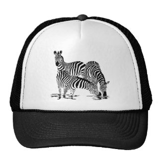 Art Deco  Zebra Trucker Hat
