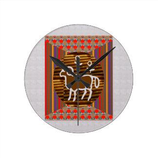 ART Decoration RAM ARIES Zodiac Symbol Astrology Wallclocks