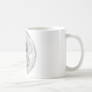 Art Design 3 leaf heart Coffee Mugs