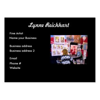 Art design business card