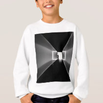 art design pattern black sweatshirt