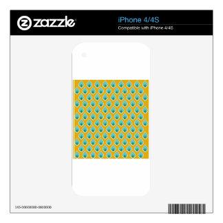 Art Design Patterns Modern classic tiles Beautiful iPhone 4S Decal