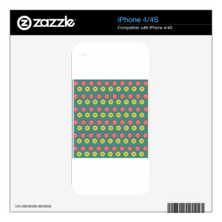 Art Design Patterns Modern classic tiles Beautiful iPhone 4S Skin