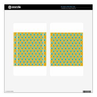 Art Design Patterns Modern classic tiles Beautiful Kindle Fire Decal