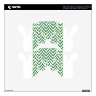 Art Design Patterns Modern classic tiles Beautiful PS3 Controller Decals