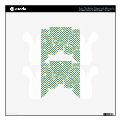 Art Design Patterns Modern classic tiles Beautiful PS3 Controller Skin